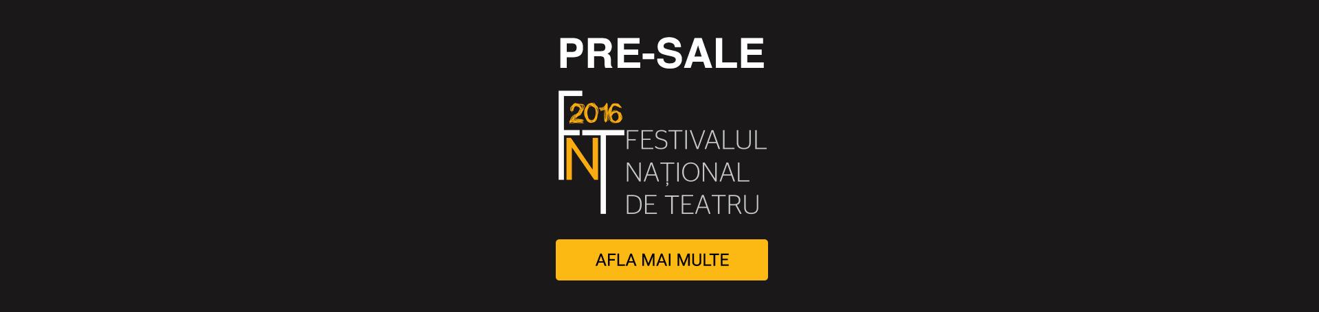 Presale FNT 2016